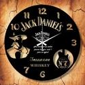 Jack Daniels óra, Otthon, lakberendezés, Falióra, Mindenmás, Újrahasznosított alapanyagból készült termékek, Ajándékozz egyedi JACK DANIELS-es bakelit órát szeretteidnek!   A csomag tartalma: 1 db a választot..., Meska