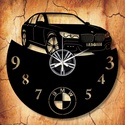 BMW-s bakelit órák, saját rendszámmal, vagy felirattal, Otthon, lakberendezés, Falióra, Mindenmás, Újrahasznosított alapanyagból készült termékek, Vagány BMW-s bakelit faliórák ajándékba, vagy Neked!  A csomag tartalma: 1 db a választott téma sze..., Meska