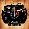 AUDI S5 falióra - INGYEN szállítással, Otthon, lakberendezés, Falióra, óra, Ajándékozz egyedi bakelit órát szeretteidnek!   A csomag tartalma: 1 db a választott téma szer..., Meska