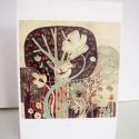 Erdő képeslap, Képzőművészet, Naptár, képeslap, album, Képeslap, levélpapír, Képeslap sorozatot készítettem az illusztrációimból. Mindegyik 250 grammos, törtfehér, jó minőségű, ..., Meska
