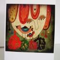 Mese - képeslap, Dekoráció, Naptár, képeslap, album, Képzőművészet, Képeslap, levélpapír, Képeslap sorozatot készítettem az illusztrációimból. Mindegyik 250 grammos, törtfehér, jó minőségű, ..., Meska