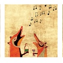 AKCIÓ Rókamóka 1-2-3. - vicces rókás illusztráció sorozat, Képzőművészet, Dekoráció, Illusztráció, Grafika, A három rókás képet 9000Ft helyett most 7500 Ft-ért szerezheted be!  25x25 cm-es printek 250 g/m2-es..., Meska