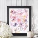 Falikép SZETT Virág trió - 3 db akvarell művészi nyomat A4-es méretben, Otthon, lakberendezés, Képzőművészet, Falikép, Falikép SZETT Virág trió - 3 db akvarell művészi nyomat A4-es méretben  A nyomat eredetije akvarelle..., Meska