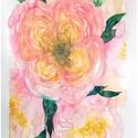 Rózsaszín rózsák akvarell virág festmény (eredeti), Képzőművészet, Festmény, Akvarell, Rózsaszín rózsák akvarell virág festmény (eredeti)  Három ózsaszín rózsa :) eredeti akvarell festmén..., Meska