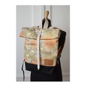 Serin hátizsák (2), Táska, Hátizsák, Egyéni hátizsák. A táska külső része vászon,  alatta pedig cordura található, ami a táskának tartást..., Meska