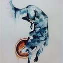 Tradicionális róka. Bíró Richárd festménye!, Képzőművészet, Festmény, Akvarell, Festészet, Gyönyörű rókát ábrázoló festmény, amely kiváló választás otthoni díszítéshez vagy ajándéknak.   Mér..., Meska