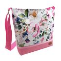 Egyedi rendelés - Virágos Női nyári vízálló táska, Megálmodtam és elkészítettem :) Igazi kellemes...