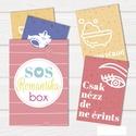 SOS love kreatív szett -letölthető pdf-, Esküvő, Férfiaknak, Szerelmeseknek, Nászajándék, Fotó, grafika, rajz, illusztráció, Figyelem, figyelem! Egy gyors és azonnal segítségre van szükséged? A hétköznapok monotonitása után ..., Meska