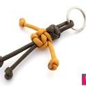 Paracord emberkés kulcstartó, Férfiaknak, Mindenmás, Kulcstartó, Egyszerű, de nagyon jópofa kis kulcstartó, mely egy kis emberkét ábrázol. A kulcstartót parac..., Meska