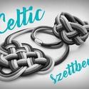 CELTIC paracord nyaklánc és karkötő - SZETT, Ékszer, Nyaklánc, Ékszerszett, Karkötő, Kelta csomót idéző nyaklánc és karkötő szett, melyek viselése abszolút egyedi megjelenést ..., Meska