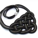 CELTIC paracord nyaklánc - Black, Ékszer, Nyaklánc, Kelta csomót idéző nyaklánc, melynek viselése abszolút egyedi megjelenést kölcsönöz. A nya..., Meska