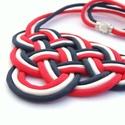 CELTIC paracord nyaklánc - Sailor, Ékszer, Nyaklánc, Kelta csomót idéző nyaklánc, melynek viselése abszolút egyedi megjelenést kölcsönöz. A nya..., Meska