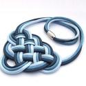 CELTIC paracord nyaklánc - Denim, Ékszer, Nyaklánc, Kelta csomót idéző nyaklánc, melynek viselése abszolút egyedi megjelenést kölcsönöz. A nya..., Meska