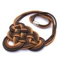 CELTIC paracord nyaklánc - Chocolate, Ékszer, Nyaklánc, Kelta csomót idéző nyaklánc, melynek viselése abszolút egyedi megjelenést kölcsönöz. A nya..., Meska