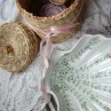 kézzel festett porcelán szappantartó vagy ékszertárló, Konyhafelszerelés, Esküvő, Nászajándék, Általam kézzel festett porcelán tálka, mely alkalmas szappantartónak, édesség kínálására,..., Meska