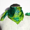 animalOnme kaméleon mintás selyemkendő, Különleges mintájú és színű ez a selyemkend...