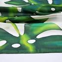 Trópusi selyemkendő pálmalevelekkel (silkandmore) - Meska.hu