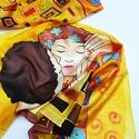 A csók Klimt képe inspirálta selyemsál, Ruha, divat, cipő, Kendő, sál, sapka, kesztyű, Sál, Kendő, Gustav Klimt a szecesszió festőjének képe inspirálta ezt a selyemstólát. Színei a aranysárga, bordó,..., Meska