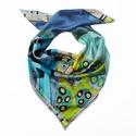 A csók Klimt képe inspirálta selyemkendő, Ruha, divat, cipő, Selyemfestés,  Gustav Klimt a szecesszió festőjének képe inspirálta ezt a selyemstólát. Színei a szürke, menta, t..., Meska