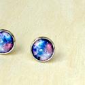 Univerzum gyűrű és fülbevaló szett, Ékszer, univerzum gyűrű,és fülbevaló., Meska