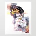 Frida Khalo festmény, Dekoráció, Képzőművészet, Festmény, Napi festmény, kép, Festészet,  Az eredeti termék saját festmény,mely akril festékkel készült. A másolatát A4es méretben árulom,25..., Meska