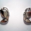 Pillangós füli, Ékszer, Fülbevaló, A pillangós füli francia zárral készült,925-ös ezüstből. , Meska