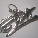 EDDA medál, Ékszer, Férfiaknak, Medál, Ékszer, kiegészítő, 925-ös ezüstből készült az EDDA medál.Rendelhető több darab is.3 cm széles.Fémjelzett éks..., Meska