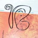Pillangó-könyvjelző, Ékszer, Mindenmás, Otthon, lakberendezés, Nikkelmentes, ezüstözött, hajlított drót. Könyvjelző mérete. 5,5 cm*5 cm, Meska