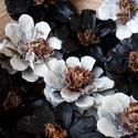 10 db-os tobozvirág csomag, Dekoráció, Esküvő, Dísz, 10 db-os tobozvirág csomag a képen látható színekben,vegyesen. A virágok 4-6 cm-esek,szár nélküliek...., Meska