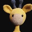 Slimi zsiráf -horgolt játék, Baba-mama-gyerek, Játék, Baba játék, Gyerekszoba, Horgolás, Tökéletes ajándék, tökéletes tárgy, tökéletes barát...  Egyedi elképzelés alapján horgolt zsiráf. A..., Meska