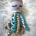 Slimi medúza , Baba-mama-gyerek, Horgolás, Tökéletes ajándék, tökéletes tárgy, tökéletes barát...  Egyedi elképzelés alapján horgolt medúza. A..., Meska