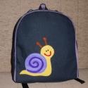 Csigabigás hátizsák , Táska, Baba-mama-gyerek, Játék, Hátizsák, Kislányoknak készült ez a hátizsák, ami nem is olyan kicsi! Belefér minden, ami fontos.  Alapa..., Meska