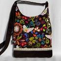 """Egyedi női táska """"salamond"""" részére, Színes, vidám kis női táska. Alapanyaga design..."""