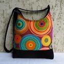 aurora borealis - íves női táska, Színes, vidám, divatos női táska. Alapanyaga d...
