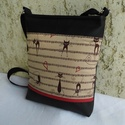 Macskaszerenád - női táska, Sportos kis női táska. Alapanyaga macska mintás...