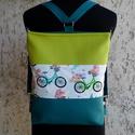 Biciklis hátitáska / válltáska , Sportos, vidám női válltáska, ami pár apró m...