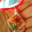 Környezetbarát medál élő virággal , Szokatlan medál élő virággal azoknak, akik sze...