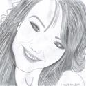 Portré készítés (megrendelésre), Képzőművészet, Grafika, Rajz, Fotó, grafika, rajz, illusztráció, A/4 papír, portré, ceruza (grafit) rajz készítése.  Fotó (fénykép) alapján rajzolok grafikai portré..., Meska