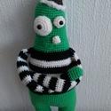 Wald, a zöld kis szörnyecske =o), Baba-mama-gyerek, A 'Min Syster' polcra elhelyezett termékeket a testvérem készítette. Ajánlom szeretettel. A 'min sys..., Meska