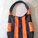 Kedves kis nyári táska, Táska, Válltáska, oldaltáska, Varrás, Ez egy egyszerű táska könnyű . méretei magasság 30 cm a közép részen szélesség 32 cm . fül 60 cm ol..., Meska