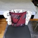 Bordo táska, Táska, Válltáska, oldaltáska, Varrás, Készítettem egy nagyon szép steppelt táskát, ami vatelinnel van bélelve.Belsejébe 2 zseb található...., Meska
