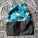 kutyás      hátizsák , Táska, Hátizsák, Tarisznya, Nagyon praktikus és divatos hátizsákot készítettem pamutvászon anyagból. Nagyon egyszerű és..., Meska