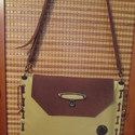 SpaltiDizájn táska5 Sokminden belefér táska sárga-barna változatban, Táska, Válltáska, oldaltáska, Laptoptáska, Bőrművesség, -valódi bőrből készült,csakis kézi munkával ez a mutatós és praktikus táska -saját tervezés -mérete..., Meska