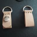 Klippek Obag Pocket és Obag Moon táskapánthoz, Táska, Válltáska, oldaltáska, -valódi bőrből készültek csakis kézi munkával ezek a patentos klippek,amiket Pocket o bag tá..., Meska