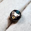 Miss Clementine Wylden - Steampunk gyűrű, Ékszer, óra, Gyűrű, A Wylden ékszerek egy nagy múltú angol család generációját és egy korszak hangulatát idézik meg. Rés..., Meska