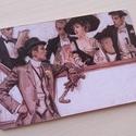 Vintage képeslap - 1920-as évek 1., Dekoráció, Naptár, képeslap, album, Otthon, lakberendezés, Képeslap, levélpapír, Valódi, kézzel készült vintage képeslap, mely akár postán is feladható! (borítékkal és anélkül is 11..., Meska