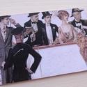 Vintage képeslap - 1920-as évek 2., Dekoráció, Naptár, képeslap, album, Otthon, lakberendezés, Képeslap, levélpapír, Valódi, kézzel készült vintage képeslap, mely akár postán is feladható! (borítékkal és anélkül is 11..., Meska