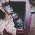 Lady Louisa Stockbridge - artdeco stílusú karóra, Ékszer, óra, Esküvő, Esküvői ékszer, Karóra, óra, A Gosford kollekció darabjai mind a feltűnő és részlet gazdag elegancia jegyében születtek. Részeik ..., Meska