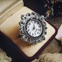 Lady Sylvia McCordle - artdeco stílusú gyűrűóra, Oly sok kérésnek eleget téve, a kollekció kere...