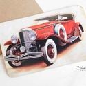 Vintage képeslap - Oldtimer 4.